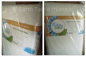Lullaby Crib Mattress by Earth Faerie Momma July 2012