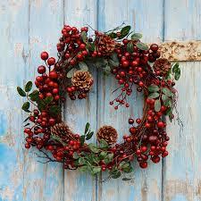 charming front door christmas wreath design inspiration feat