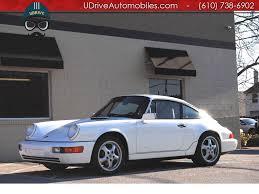 1990 porsche 911 carrera 2 1990 porsche 911 carrera 4 964 c4 coupe 5 speed manual sunroof