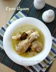 menu pelengkap opor ayam citra u0027s home diary opor ayam chicken braised in coconut milk