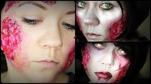 wound halloween makeup wunde wound mit klopapier halloween make up tutorial deutsch
