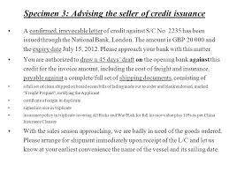Letter Of Credit Validity chapter seven payment section 1 introduction understand the various