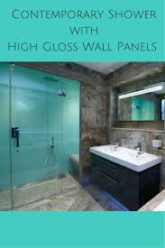 Bathroom Glass Shower Ideas by Best 25 Glass Shower Walls Ideas On Pinterest Glass Shower