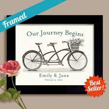 wedding quotes journey begins and wedding gift our journey begins framed artwork