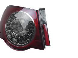 2011 vw cc led tail lights 2011 vw passat b6 4d sedan depo cherry red smoke led rear tail light