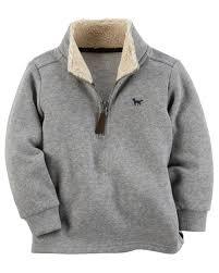 zip up sweater fleece zip up sweater carters com