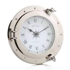 neptune porthole wall clock products wall clocks and clock