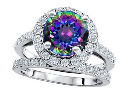 wedding rings topaz images Mystic topaz unusual engagement rings review fire topaz engagement jpg