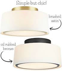 Bronze Ceiling Light Best Flush Mount Ceiling Lighting My 10 Faves From Inexpensive