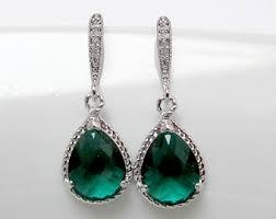emerald drop emerald etsy