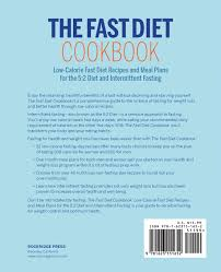 fast diet cookbook low calorie fast diet recipes and meal plans