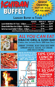 Ponderosa Buffet Price by Gatorland Restaurant Guide Of Osceola