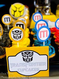 transformer birthday decorations transformer party food decorations otsing laste