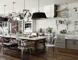 Glass Cabinet Doors For Kitchen by Kitchen Style Modern Industrial Kitchen Design Stainless Steel
