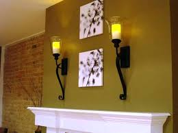 Hurricane Candle Wall Sconces Sconce Candle Wall Sconces Glass Replacement Image Of Wall