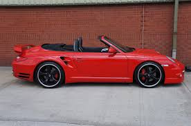 red porsche convertible used 2009 porsche 911 turbo 997 turbo pdk for sale in manchester