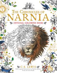 chronicles narnia official coloring book