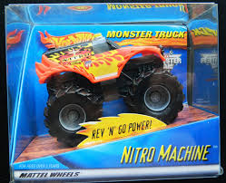 monster truck nitro 3 wheels wcw nitro machine monster jam toy truck wcw worldwide