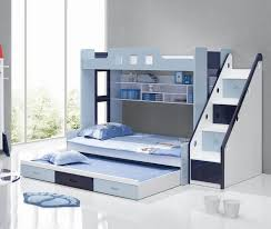 Bunk Bed With Cot Bedroom Bunk Beds With Stairs And Mattress Included Bunk Beds