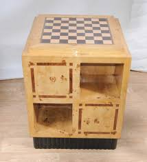 chess board coffee table art deco games table side coffee table chess board furniture