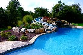 Backyard With Pool Landscaping Ideas Pool Landscaping Ideas Photos Home Design Ideas