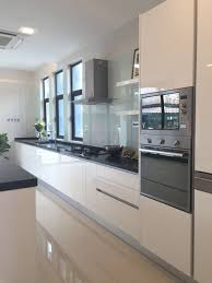 modern wet kitchen design meridian interior design and kitchen design in kuala lumpur