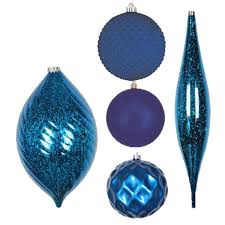 shatterproof ornaments and mesh ribbon