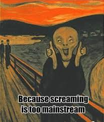 Scream Meme - photos 10 the scream memes to mark international moment of
