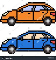 pixel art car vector pixel art car isolated stock vector 700754032 shutterstock