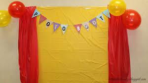 diy diy photo backdrop birthday party room design decor gallery