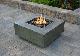 Fire Pits Denver by Square Fire Pit Midcentury Denver With Rectangular Trampolines