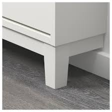 ikea shoe cabinet ställ shoe cabinet with 3 compartments white 79x148 cm ikea