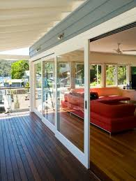 Wood Sliding Glass Patio Doors When I Win The Lotto Doing This Outside Slider Wall For The