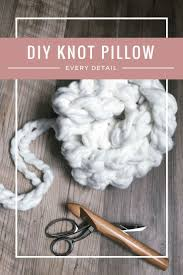 knot pillow tutorial every little detail you need to know
