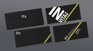 Invitations Card Design 13th Street Universal Invitation Card On Behance