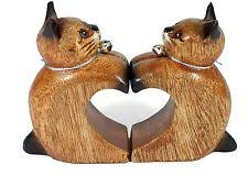 wooden unmounted collectable cat ornaments ebay