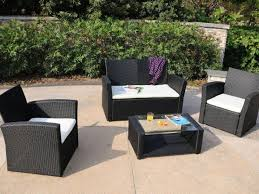 Kroger Patio Furniture Clearance by Patio 16 Rustic Garden Patio Decoration Black Resin Wicker