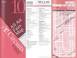 Wynwood Miami Map by Miami River Art Fair 2017 Publications