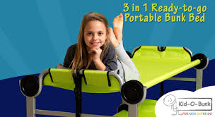 Portable Bunk Beds Portable Bunk Beds And Cots Disc O Bed Sleep Solutions