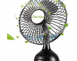 Small Metal Desk Fan 4inch Fans Amd Heater