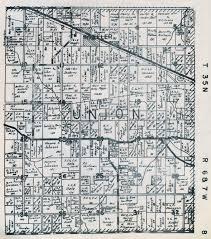 Plat Maps Porter County Indiana Genweb Union Township Maps
