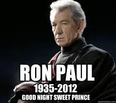 Magneto Meme - ron paul 1935 2012 good night sweet prince ron paul magneto