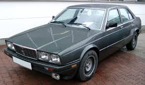 1985 maserati biturbo biturbo 425 190 hp