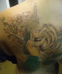 apsara tattoo dragon by jeremyworst on deviantart