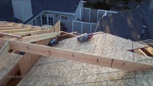 Roof Framing Pictures by How To Install Roof Framing Fill For New Home Construction And