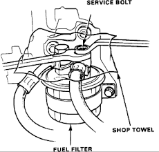 2000 honda accord fuel filter need help need to replace fuel filter in b16a honda tech