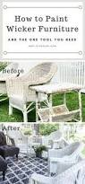 Can You Paint Wicker Chairs How To Paint Wicker Furniture Wicker Furniture Tutorials And