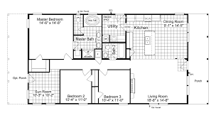 the great escape 30603g manufactured home floor plan or modular