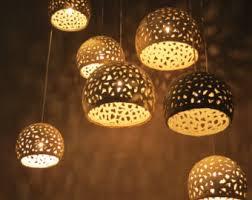 Ceramic Light Fixture Ceramic Lighting Etsy