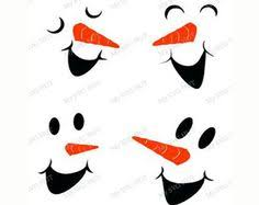 image result snowman carrot nose template christmas
